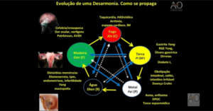 Evolução de uma desarmonia que gera a doença